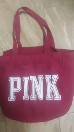 PINK tote bag with zipper for Sale in Chandler, AZ