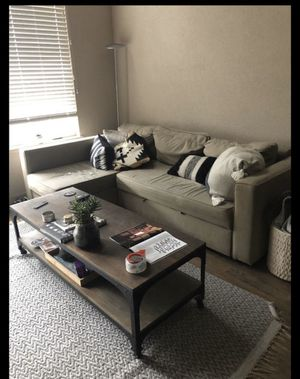Coffe table and full size bed frame for Sale in Berkeley, CA