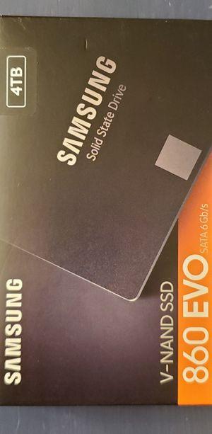 NEW SAMSUNG 860 EVO 4TB 2.5 INCH SATA SSD for Sale in ROWLAND HGHTS, CA