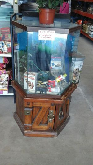 Fish tank and more for Sale in San Diego, CA