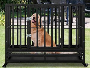 Smonter Strong Metal Heavy Duty dog Crate. for Sale in Enfield, CT