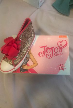 Brand New Jojo Siwa Bow shoes size 2 1/2 for Sale in Boston, MA