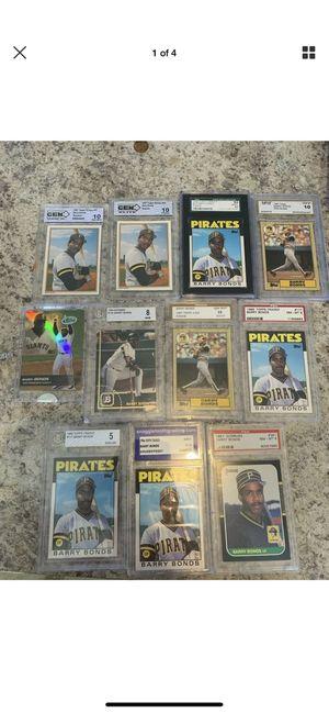 Barry bonds San Francisco giants baseball cards for Sale in Pflugerville, TX