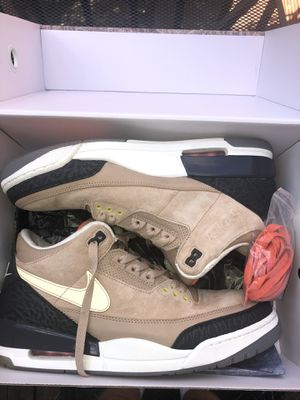 Jordan 3 Retro Bio Beige Shoe for Sale in Northbrook, IL