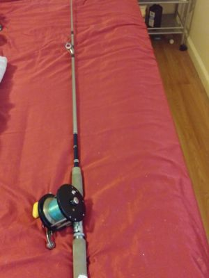 "$35 Penn Delmar Reel with 6'3"" reliance fishing rod for Sale in Queens, NY"