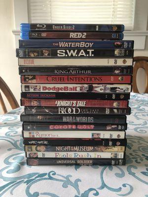 DVD / Blu-ray Lot for Sale in Elkton, VA