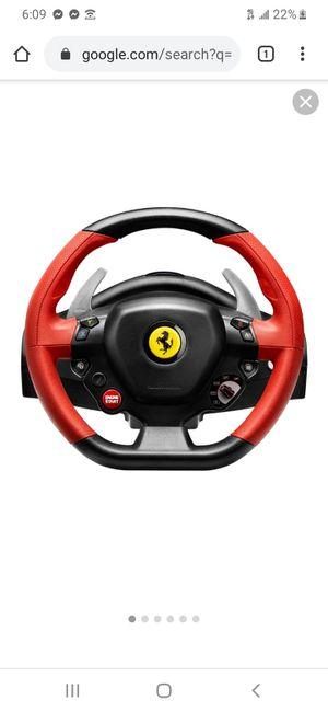 Xbox one steering wheel for Sale in Phoenix, AZ