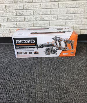 RIDGID Gen5X 18 v 5pc combo kit for Sale in Taylor, MI