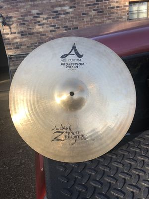 """16"""" zildjian A custom projection crash cymbal for Sale in Booneville, MS"""