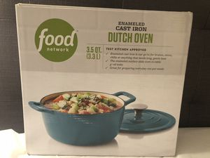 Food Network Cast Iron Dutch Oven for Sale in Washington, DC
