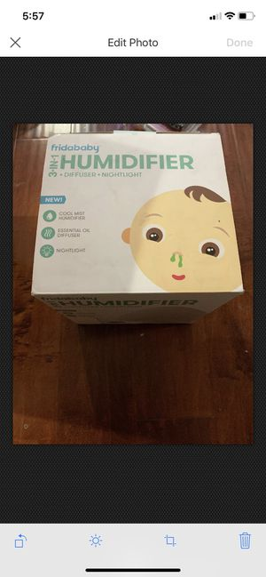 FridaBaby 3-in-1 Humidifier, White Box Has Wears for Sale in Walnut, CA