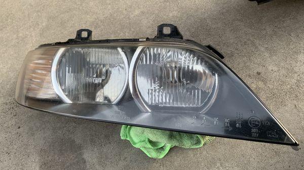 BMW Z3 Black Housing Halo Headlights OEM Pair 96-02