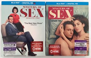 Master of Sex Blu-ray and Digital HD Season 1 & 2 Brand New for Sale in Woodbridge, VA