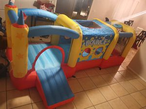 XL bouncy house bought for my 8year old kid but too small brand new for Sale in Florence, AZ