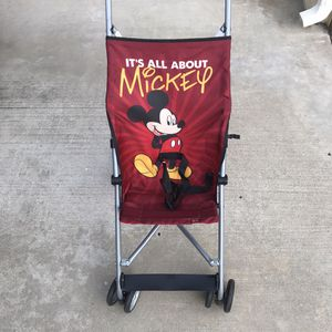 Cosco Disney Mickey Mouse Fold Stroller for Sale in El Cajon, CA