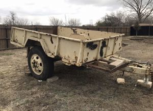 Military Trailer 6.5x10ft for Sale in Creedmoor, TX