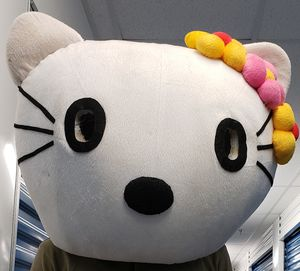 Big Hello Kitty Costume Head for Sale in Washington, DC