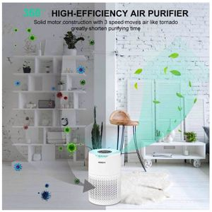 Small Portable Air Purifiers for Home Large Room with True HEPA Filter Air Purifier for Allergies and Pets, Smokers, Mold, Pollen, Dust, Quiet Odor Up for Sale in Rosemead, CA
