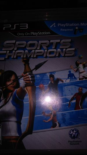 Ps3 sports champion requires camera and controller for Sale in Los Angeles, CA