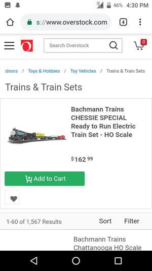 BACHMANN CHESSIE SPECIAL TRAIN SET for Sale in Modesto, CA