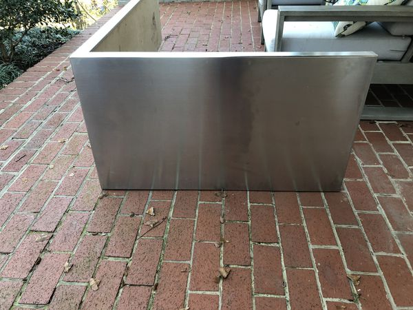 Stainless steel Kitchen Island, 3 sided