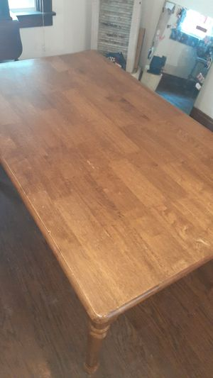 Oak kitchen table without chairs for Sale in Columbus, OH