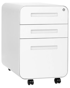 White 3-Drawer File Cabinet for Sale in Oakley, CA