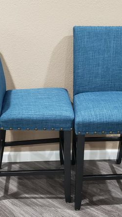 Set of 2 Fabric Dining Chairs for Sale in Kent,  WA