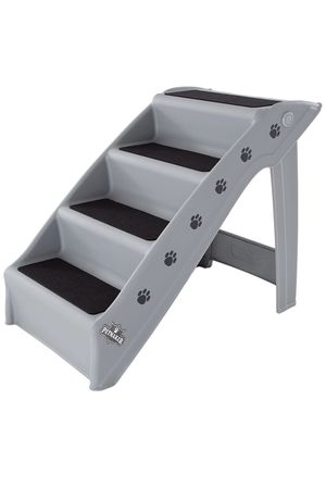 Folding Plastic Nonstick Pet Stairs, Durable Indoor or Outdoor, Multi-Step Design for Sale in Moreno Valley, CA