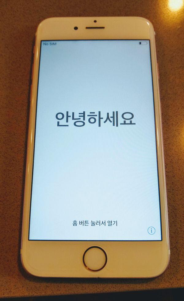 iPhone 6s pink 64gb unlocked