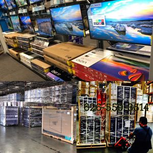 4K tv warehouse open to the public Samsung QLED 4K curved SUHD HDR quantum dot Sony LG OLED sharp Vizio 50 inch 55 inch or 60 inch 65 inch 70 inch 7 for Sale in Altadena, CA