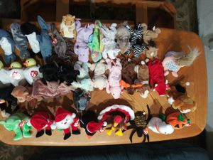 36 Beanie Babies. New with tags! Snort + more! for Sale in Tacoma, WA