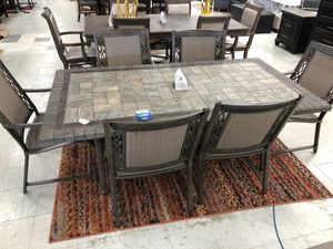Patio set with six chairs for Sale in Greensboro, NC