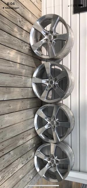 """20"""" Camaro Rims, will fit S10 for Sale in Evansville, IN"""