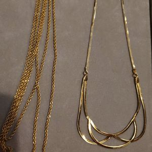 14k gold chain and rope, perfect gift😍 for Sale in Aurora, CO