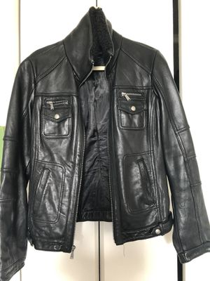 Michael Kors Leather Jacket for Sale in Lincolnia, VA