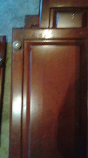 Two solid wood closest and some doors for Sale in Charlotte, NC