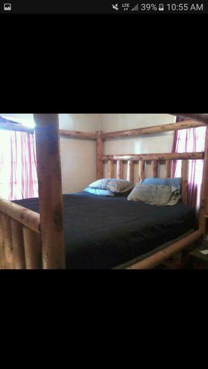 Jackpine Cali-King Log Bed for Sale in Prineville, OR