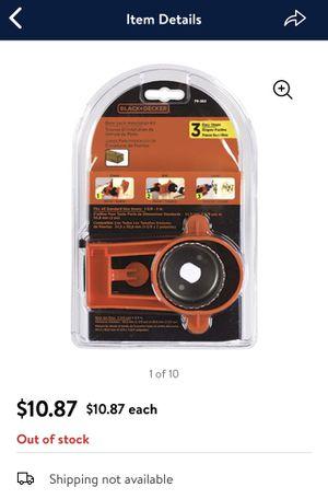 Brand new door lock installation kit-$3 for Sale in Hyattsville, MD