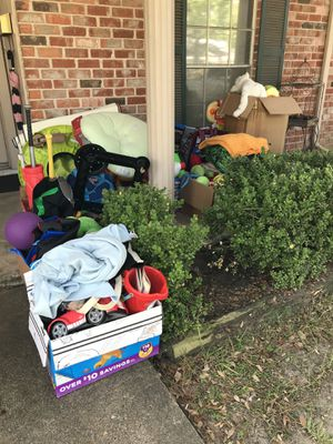 Free boys clothes and toys! for Sale in Houston, TX
