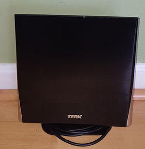 TERK - Omnidirectional Flat-Panel HDTV Indoor Antenna - Black Model:OMNITV for Sale in Germantown, MD