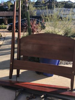 Free Four Poster Queen Bed for Sale in Escondido,  CA
