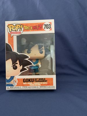 New Funko Pop! Dragonball Z Goku 28th world tournament 703 for Sale in Palmdale, CA