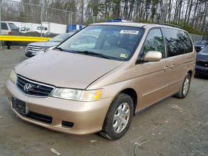 2002 HONDA ODYSSEY EXL 3.5L 532286 Parts only. U pull it yard cash only. for Sale in Fort Washington, MD