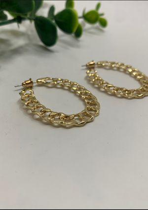 Hoop Style Geometric Trendy Earrings For Women for Sale in Tustin, CA
