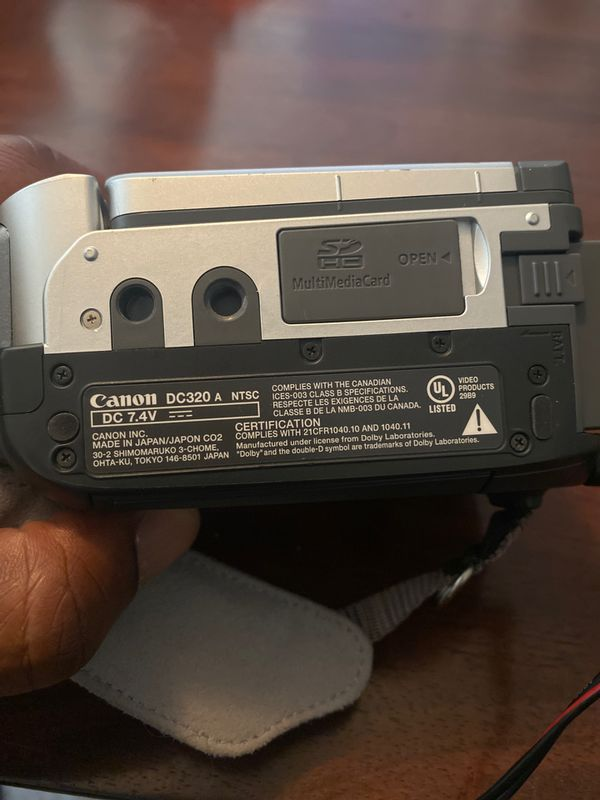 Canon Mini DVD Camcorder