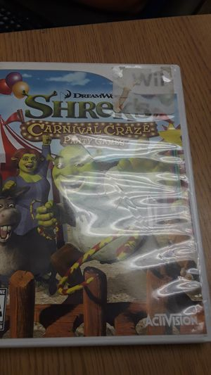 Shrek party games wii for Sale in Cleveland, OH