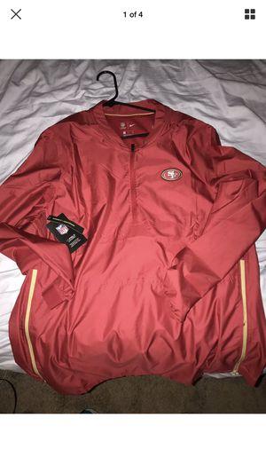 Nike San Francisco 49ers On Field Windbreaker size XL for Sale in San Jose, CA