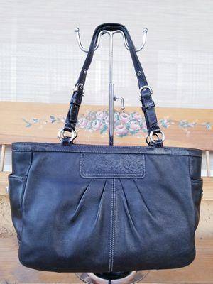 """Authentic Coach Leather Black Purse Bag 12""""W x 9""""H x 4"""" D. for Sale in Las Vegas, NV"""