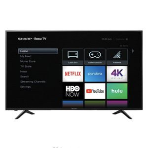 """Sharp - 65"""" Class - LED - 2160p - Smart - 4K UHD TV with HDR - Roku TV for Sale in Philadelphia, PA"""